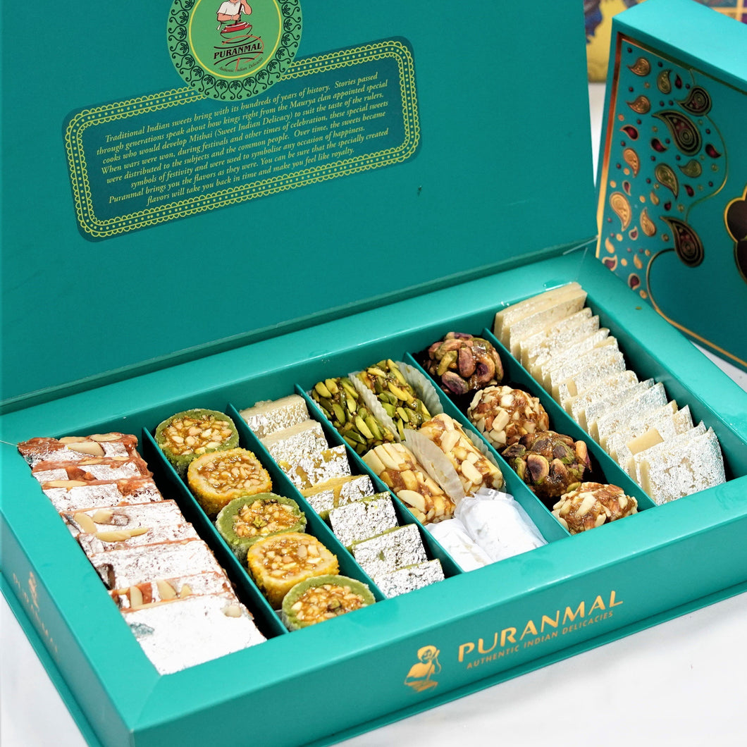 Luxury Mithai Box by Puranmal - Make Your Own Box of Sweets - mabrook.me