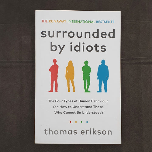 Book Surrounded By Idiots by Thomas Erikson - mabrook.me