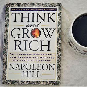 Book Think and Grow Rich by Napolean Hill - mabrook.me