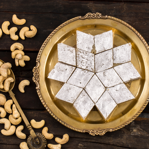Kaju Katli - Diwali Special Sweets Box (Make Your Kaju Variety Box) - mabrook.me