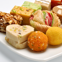 Load image into Gallery viewer, Luxury Mithai Box by Puranmal - Make Your Own Box of Sweets - mabrook.me