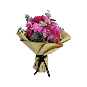 Mixed Bouquet of Hydrangeas - mabrook.me