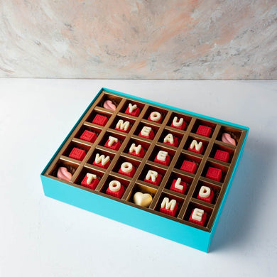 Chocolates You Mean the World to Me - Chocolates by NJD - mabrook.me