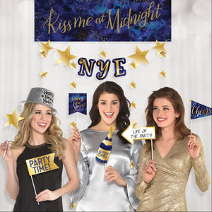 Accessories Midnight NYE Photo Booth Kit - mabrook.me