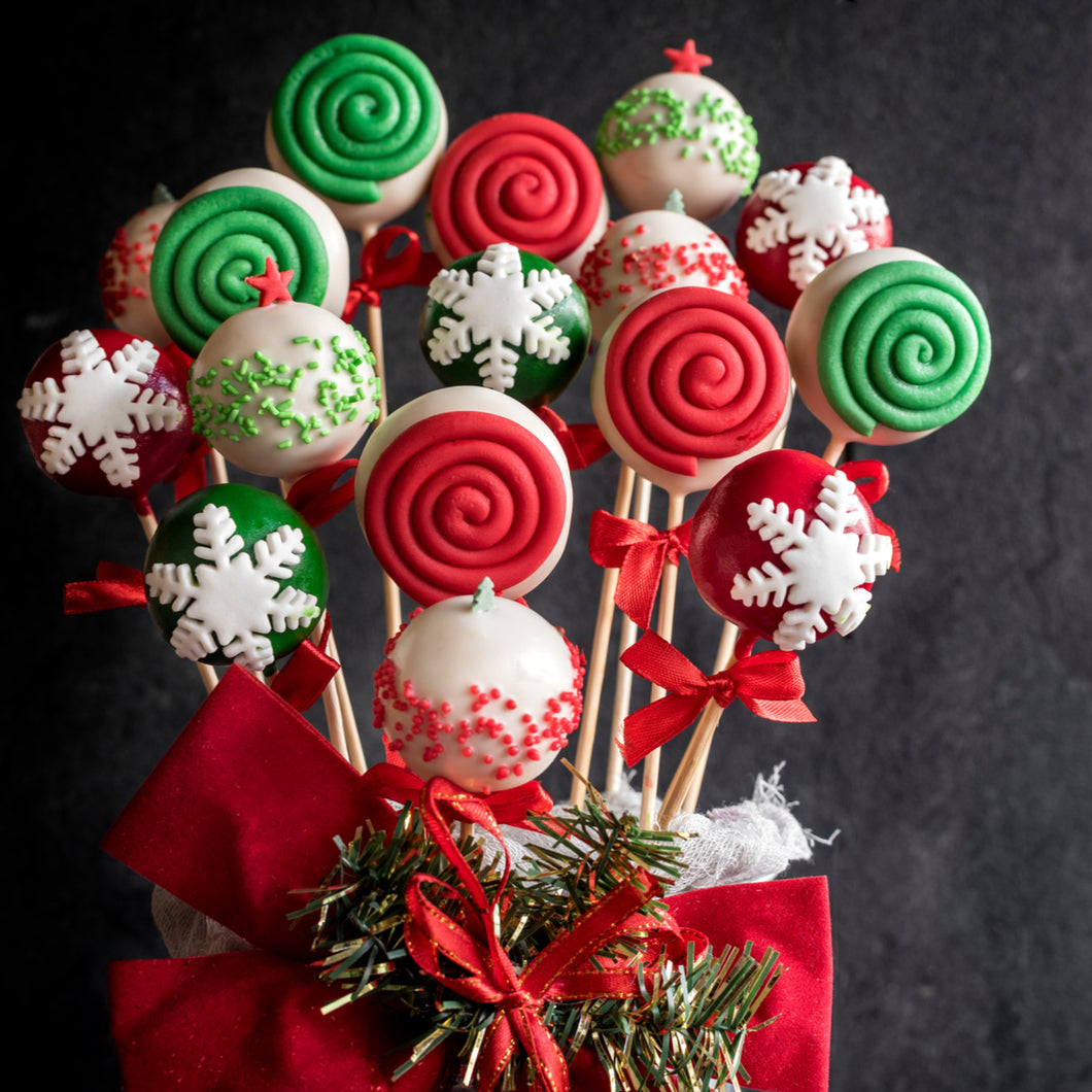 Cake Pops Assorted Holiday Themed Cake Pops - mabrook.me