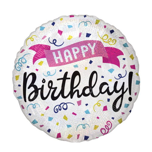 Decor Happy Birthday Sparkle Foil Balloon - mabrook.me