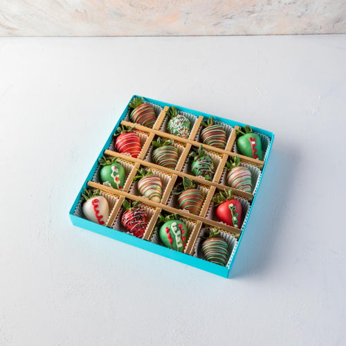 Strawberries 16pcs Christmas Strawberries - mabrook.me