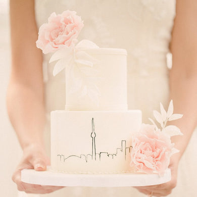 Customizable White Cake - mabrook.me