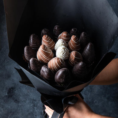 Chocolates Chocolate Strawberry Bouquet by NJD - mabrook.me