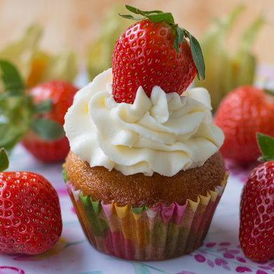 Strawberry Cupcakes - mabrook.me