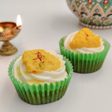 Load image into Gallery viewer, Rasmalai Thandai - Diwali Special Cupcakes - mabrook.me