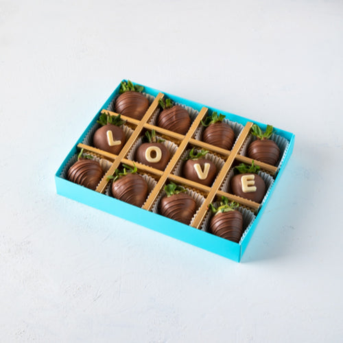 Chocolates Personalized Milk Chocolate Strawberries - mabrook.me