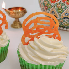 Load image into Gallery viewer, Jalebi Rabri - Diwali Special Cupcakes - mabrook.me