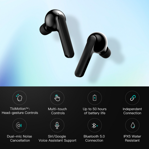 Earbuds Mobvoi Earbuds Gesture: Intuitive AI Assistance - mabrook.me