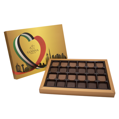 National Day Finesse Supreme Chocolates 96pcs by Godiva - mabrook.me