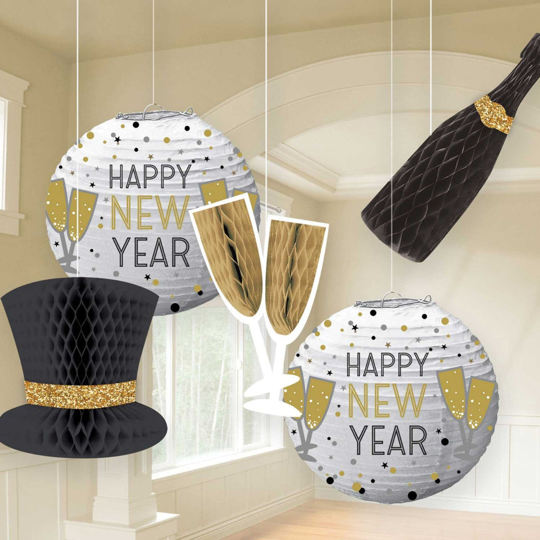 Decor New Years Hanging Bouquets - mabrook.me