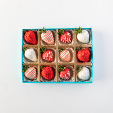 Load image into Gallery viewer, Strawberries 12 Pcs Red and White Strawberries by NJD - mabrook.me