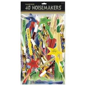 Accessories Noisemakers Value Pack - 40pcs - mabrook.me
