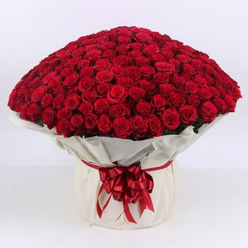 Flowers Grand Bouquet of Red Roses - mabrook.me