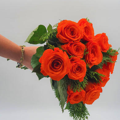 Bunch of Orange Roses - mabrook.me