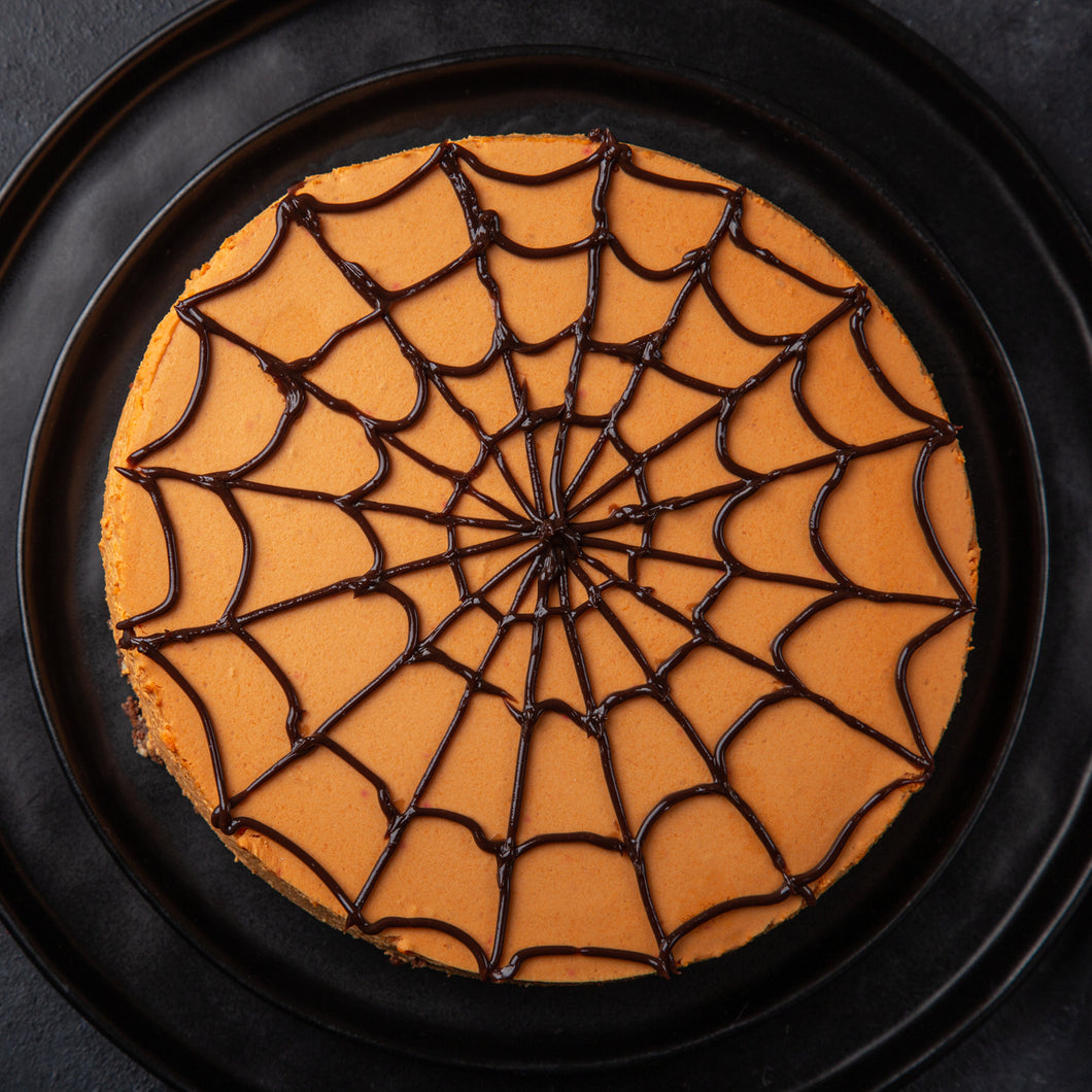 Spider Web - Halloween Themed Cake - mabrook.me
