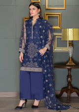 Morocon attire Blue