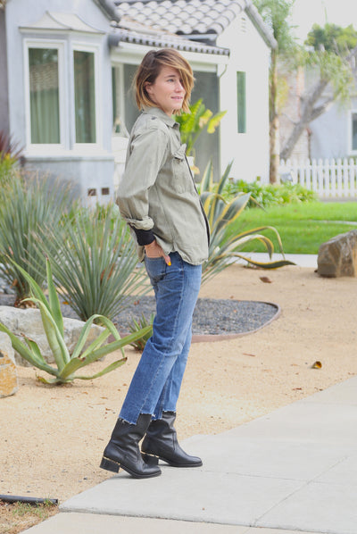 Fun way to style your fall boots