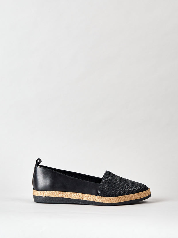 THE IBIZA BRAIDED BLACK
