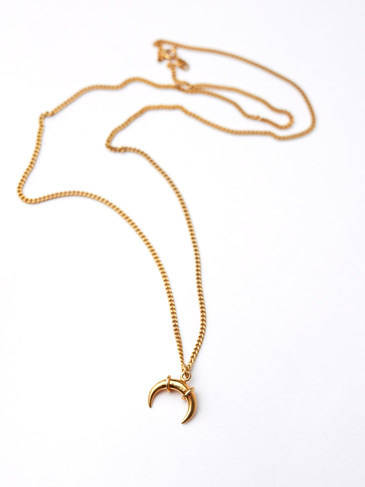 IAMELENI X BLANKENS - LUNAR NECKLACE GOLD PLATED