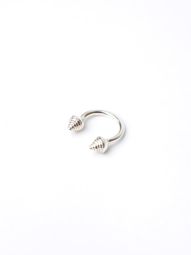 IAMELENI X BLANKENS - ICON RING OPEN SILVER