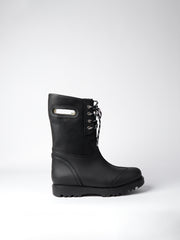 Blankens black boot The Alexia black laced eco. Yourblankens.