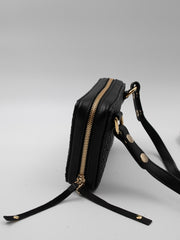 THE MONTAUK MIDI BRAIDED BLACK