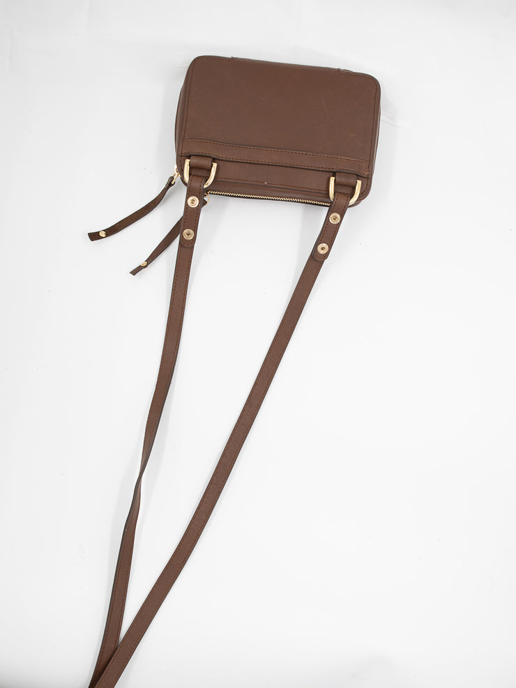 THE MONTAUK MIDI TUMBLED BROWN