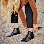 THE MOJAVE BLACK LEATHER
