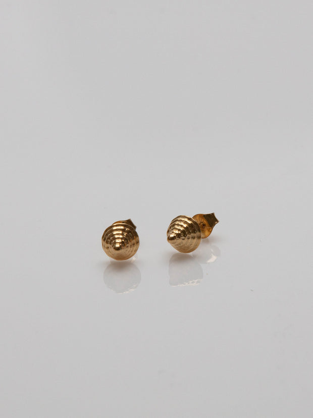 IAMELENI X BLANKENS - ICON STUD GOLD PLATED EARRING