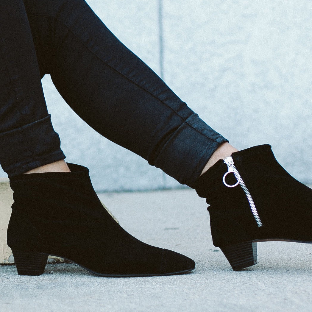 THE LA BREA BLACK SUEDE