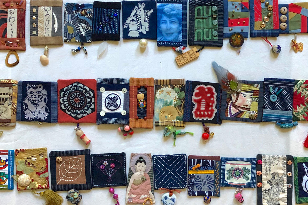 susan ball faeder: 100 days of amulets