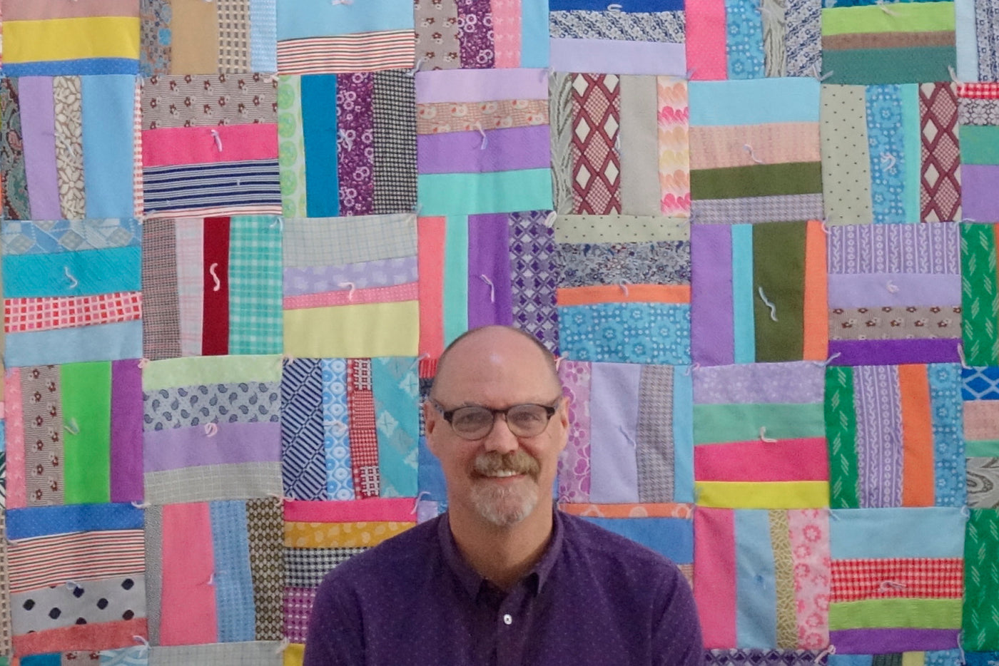 bill volckening: insatiable quilt guy
