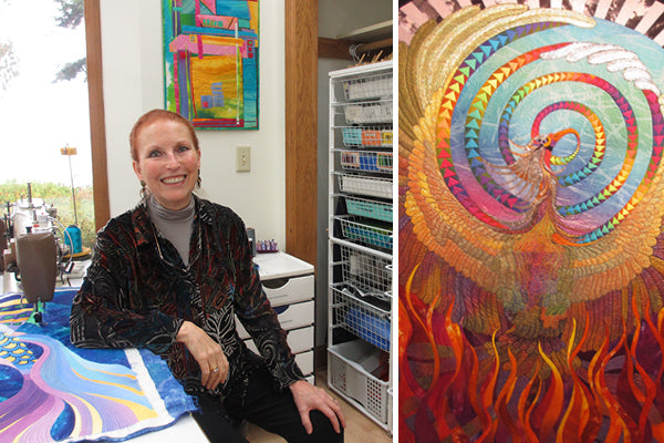 Caryl Bryer Fallert Gentry, internationally recognized quilter