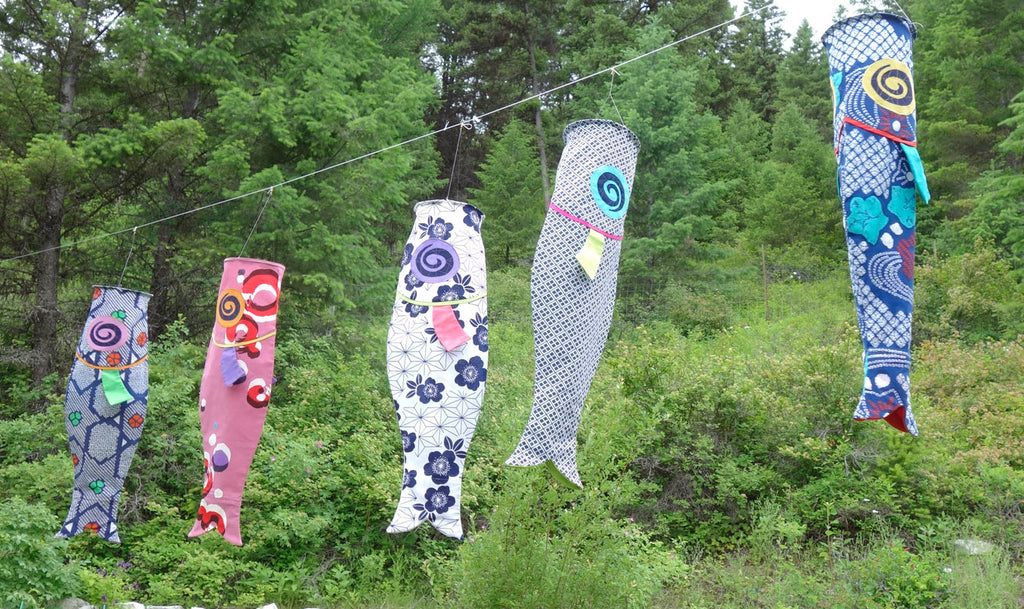 summer fun: koinobori