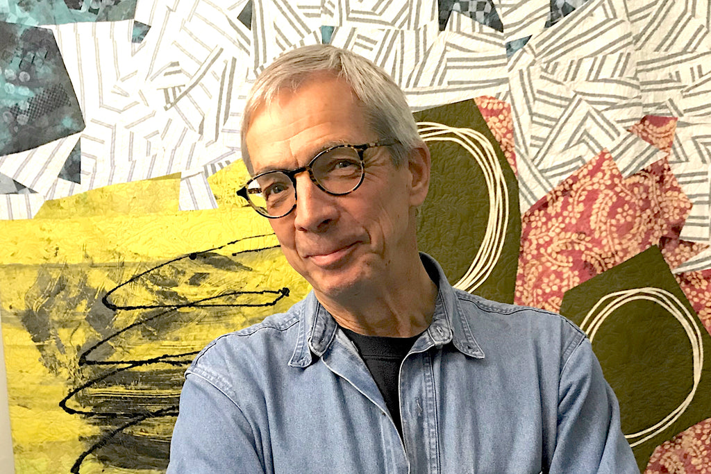 joe cunningham: quiltmaking as a way to be free