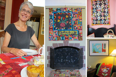 at home with leeann of nifty quilts
