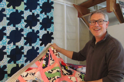 roderick kiracofe and his urban quilt barn