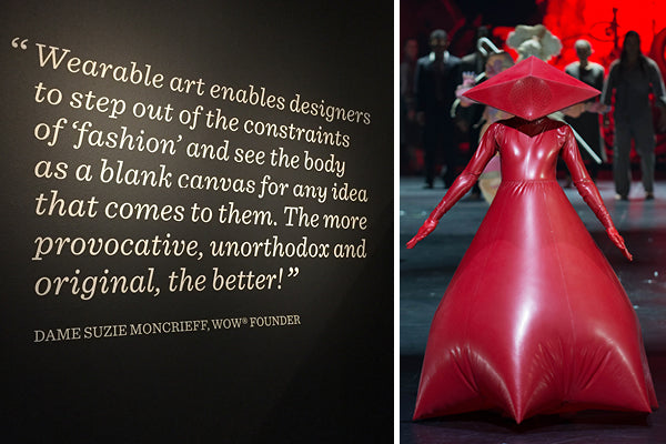 WOW, World of WearableArt, show in Wellington, New Zealand