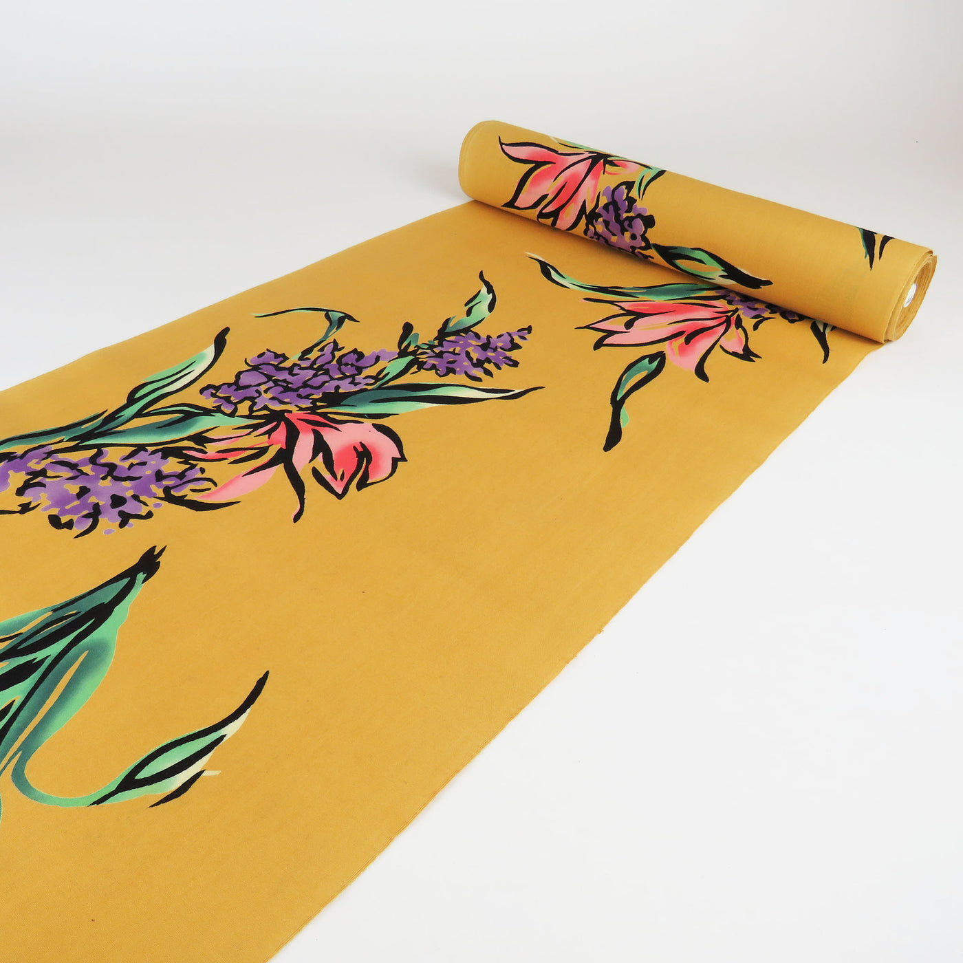 Yukata Cotton - Yellow | Orange