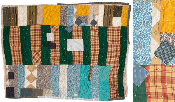 Quilt collected by Roderick Kiracofe