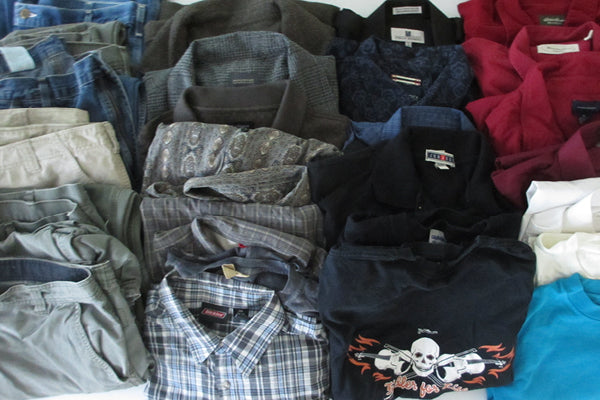 Clothes of John Curry III, killed in a home invasion