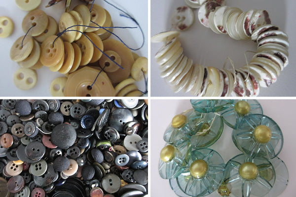 Buttons in the Collection of Jane Belyea