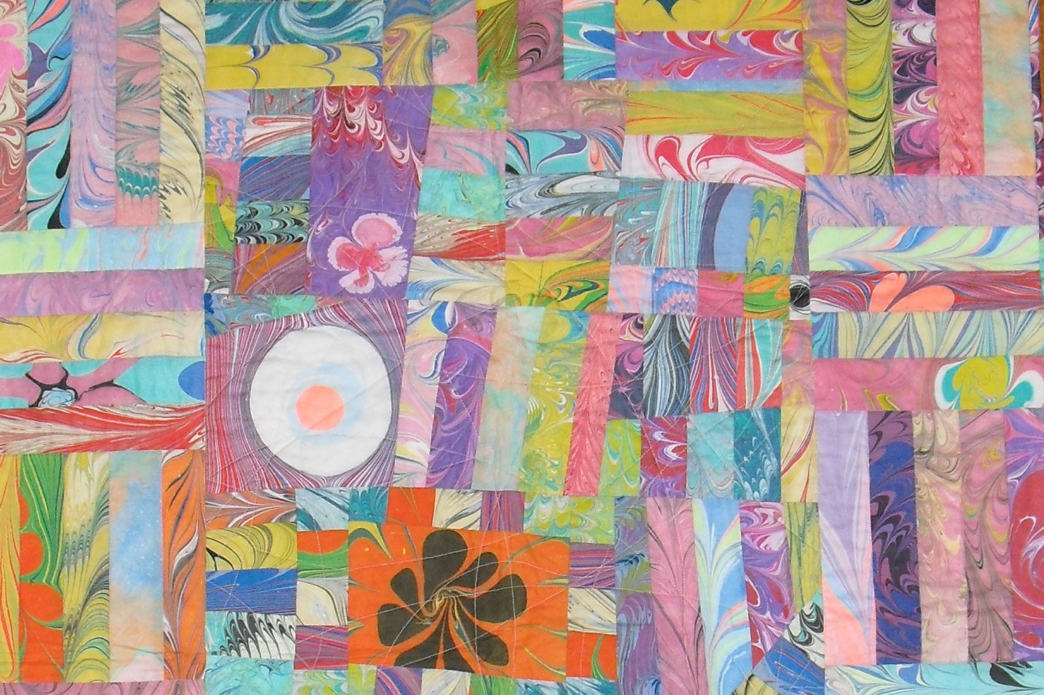 An early quilt by Patricia Belyea