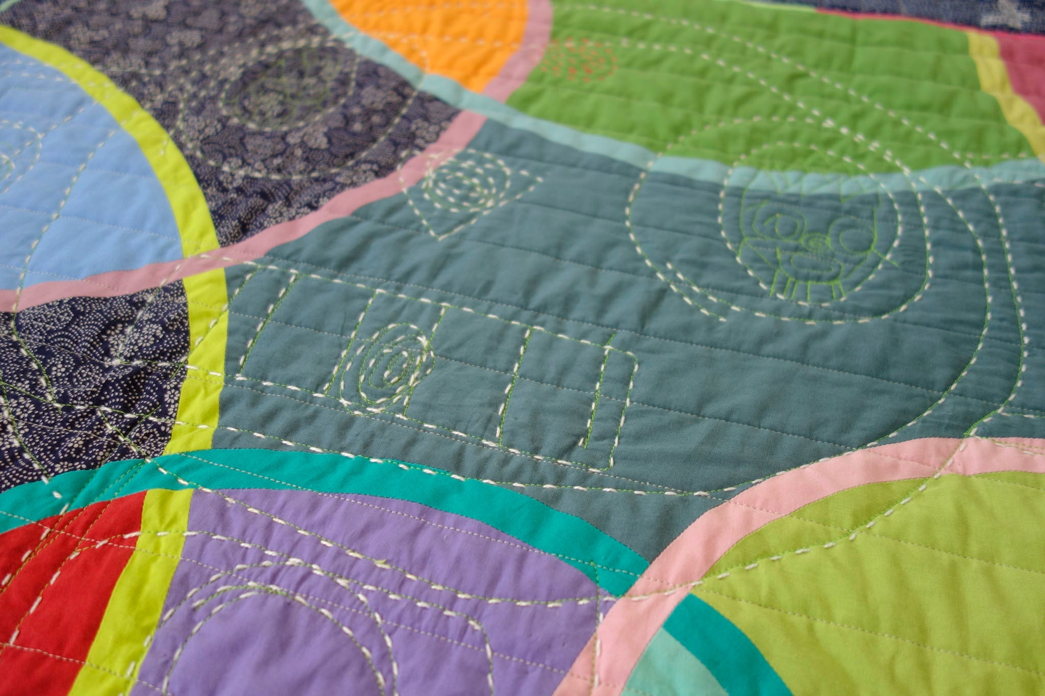 Watermelon From Mars quilt by Patricia Belyea
